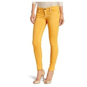 Sanctuary Denim Marigold Yellow Skinny Jeans 30